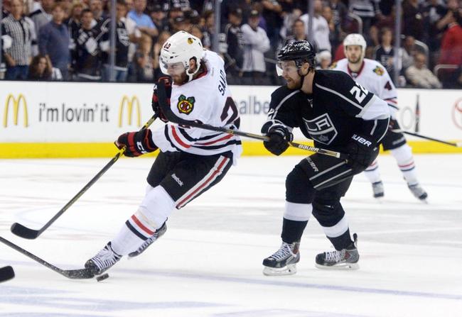 Chicago Blackhawks vs. Los Angeles Kings NHL Pick, Odds, Prediction - 5/28/14 Game Five
