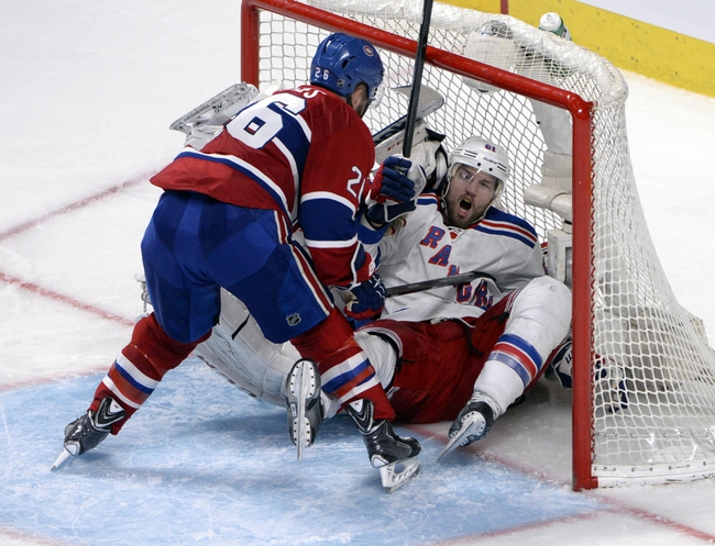 Montreal Canadiens at New York Rangers Pick-Odds-Prediction - 5/29/14