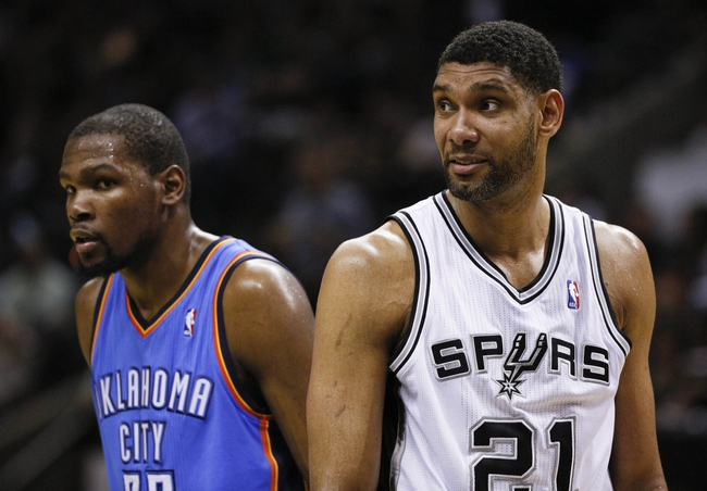 San Antonio Spurs at Oklahoma City Thunder NBA Pick, Odds, Prediction - 5/31/14 Game Six