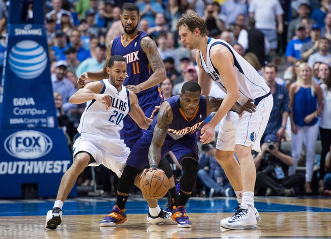 Phoenix Suns vs. Dallas Mavericks - 12/23/14 NBA Pick, Odds, and Prediction