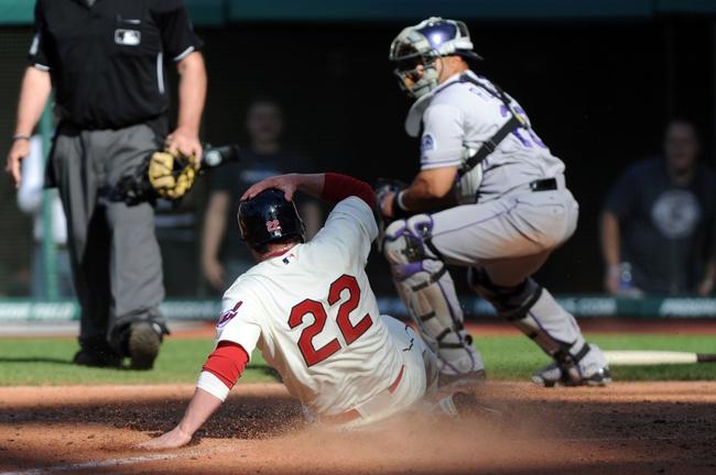 Cleveland Indians vs. Colorado Rockies Pick-Odds-Prediction - 6/1/14