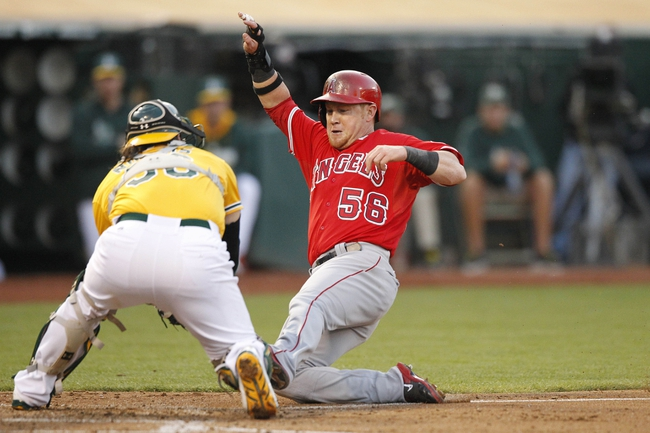 Oakland Athletics vs. Los Angeles Angels Pick-Odds-Prediction - 6/1/14