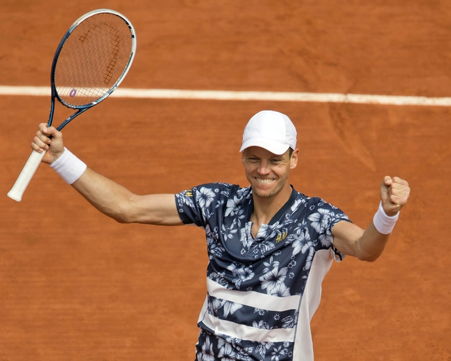 Tomas Berdych vs. Pablo Cuevas 2016 French Open Pick, Odds, Prediction