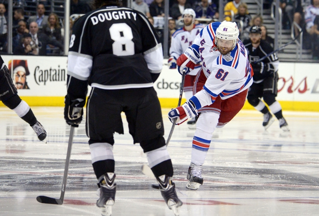 Los Angeles Kings vs. New York Rangers NHL Final Prediction, Odds, Pick - 6/7/14 Game Two