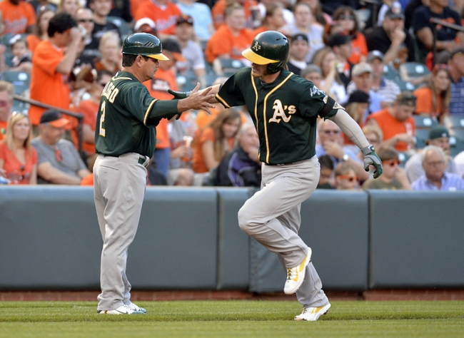 Baltimore Orioles vs. Oakland Athletics MLB Pick, Odds, Prediction - 6/7/14