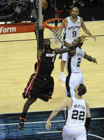 Miami Heat vs. San Antonio Spurs - 6/10/14 Game 3