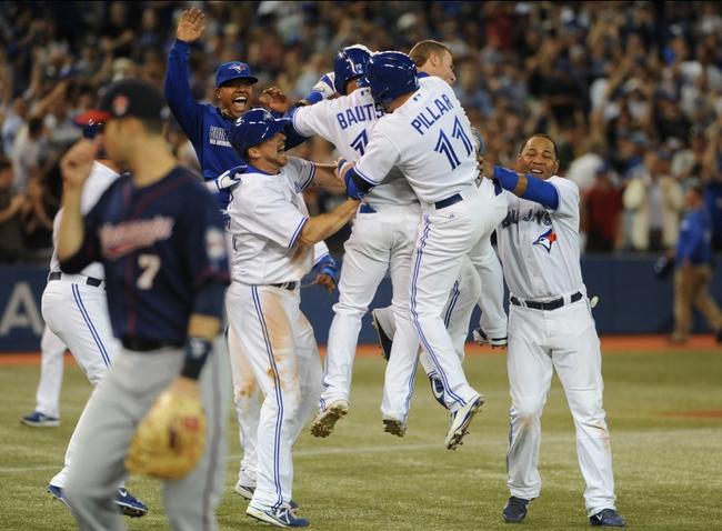Toronto Blue Jays vs. Minnesota Twins MLB Pick, Odds, Prediction 6/10/14