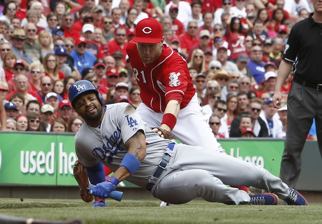 Reds at Dodgers - 8/13/15 MLB Pick, Odds, and Prediction