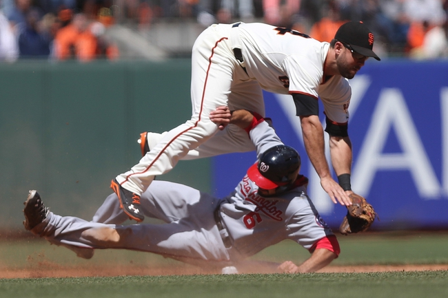 Washington Nationals vs. San Francisco Giants 8/22/14 Free MLB Pick