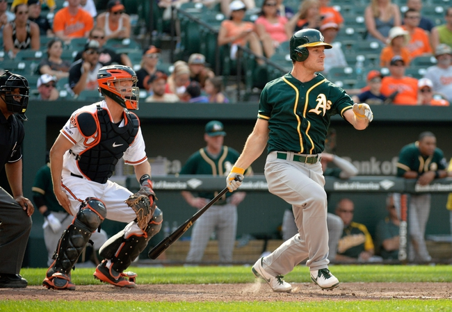 Baltimore Orioles at Oakland Athletics MLB Pick, Odds, Prediction 7/18/14