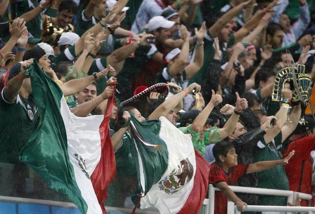 2014 FIFA World Cup: Brazil vs. Mexico Pick, Odds, Prediction - 6/17/14