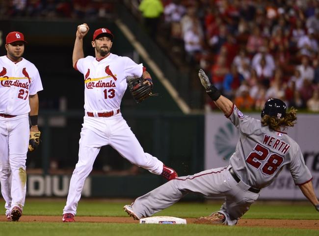 St. Louis Cardinals vs. Washington Nationals MLB Pick, Odds, Prediction - 6/15/14