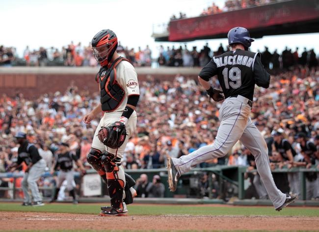 San Francisco Giants vs. Colorado Rockies MLB Pick, Odds, Prediction 6/15/14