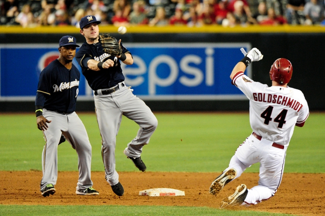 Arizona Diamondbacks vs. Milwaukee Brewers MLB Pick, Odds, Prediction 6/17/14