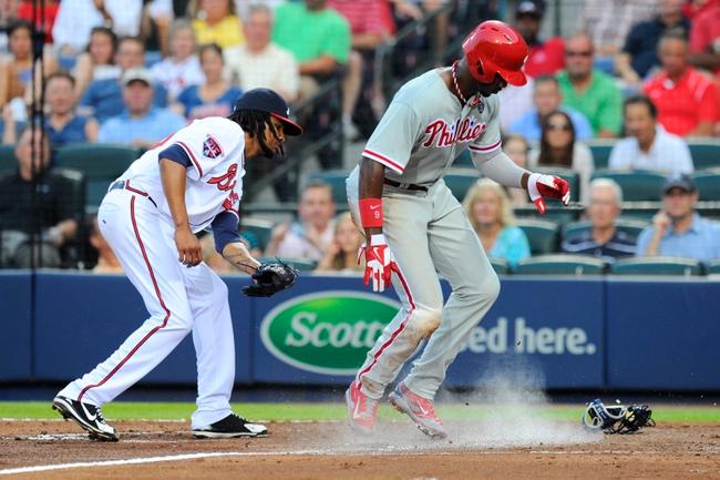 Atlanta Braves vs. Philadelphia Phillies MLB Pick, Odds, Prediction 6/18/14