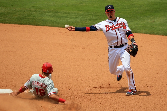 Philadelphia Phillies vs. Atlanta Braves MLB Pick, Odds, Prediction - 6/27/14