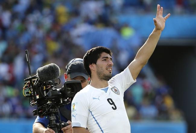 2014 FIFA World Cup: Uruguay vs. Colombia Pick, Odds, Prediction - 6/28/14