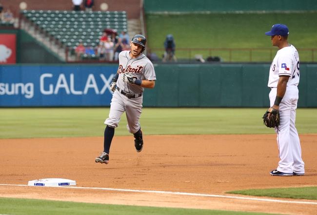 Texas Rangers vs. Detroit Tigers Pick-Odds-Prediction - 6/25/14