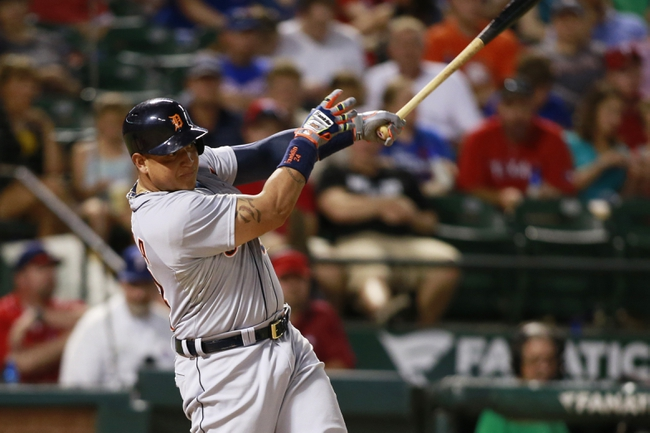 Tigers vs. Rangers - 8/20/15 MLB Pick, Odds, and Prediction
