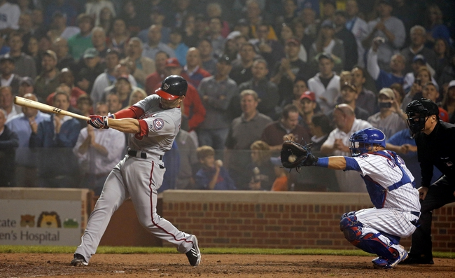 Chicago Cubs vs. Washington Nationals MLB Pick, Odds, Prediction - 6/28/14 Game One