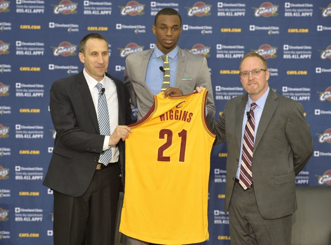 The Cleveland Cavaliers Can't Trade Andrew Wiggins for Kevin Love