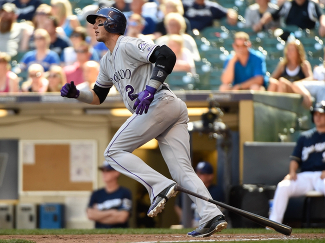 Milwaukee Brewers vs. Colorado Rockies - 4/6/15 MLB Pick, Odds, and Prediction