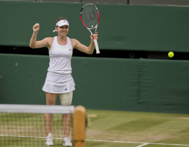 Eugenie Bouchard vs. Simona Halep 2014 Wimbledon Pick, Odds, Prediction