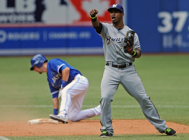 Milwaukee Brewers vs. Toronto Blue Jays MLB Pick, Odds, Prediction - 8/19/14