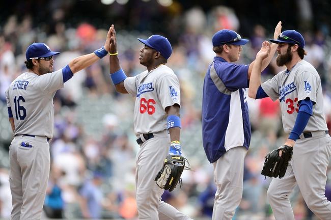 Colorado Rockies vs. Los Angeles Dodgers MLB Pick, Odds, Prediction 9/15/14