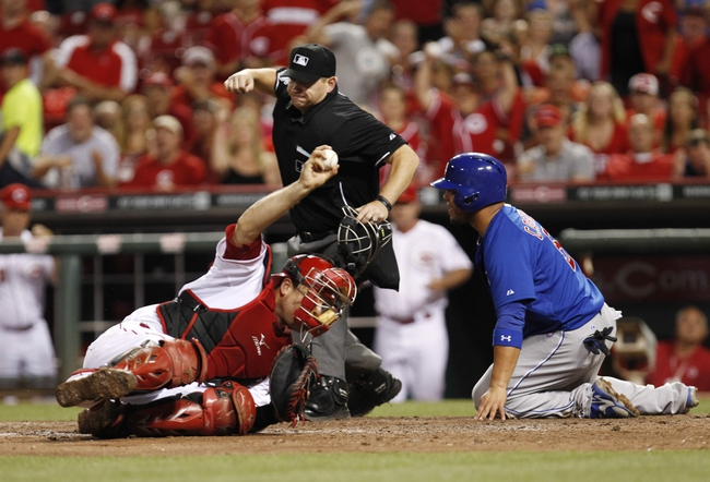 Chicago Cubs at Cincinnati Reds MLB Pick-Odds-Prediction - 7/8/14 Game Two