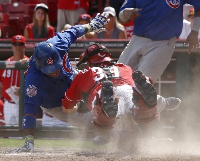 Cincinnati Reds vs. Chicago Cubs MLB Pick, Odds, Prediction - 8/26/14