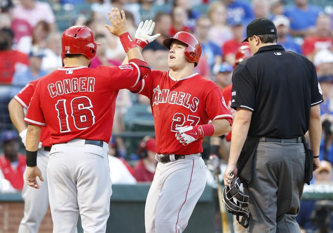 Texas Rangers vs. Los Angeles Angels MLB Pick, Odds, Prediction - 7/11/14