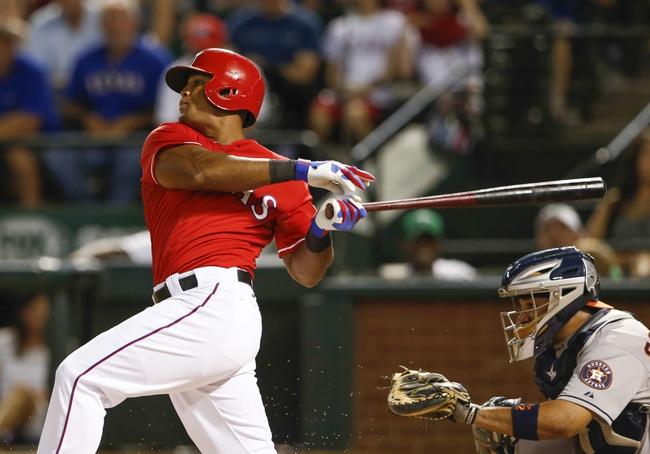 Houston Astros vs. Texas Rangers MLB Pick, Odds, Prediction - 8/8/14