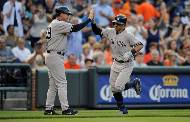 Baltimore Orioles vs. New York Yankees MLB Pick, Odds, Prediction - 7/12/14