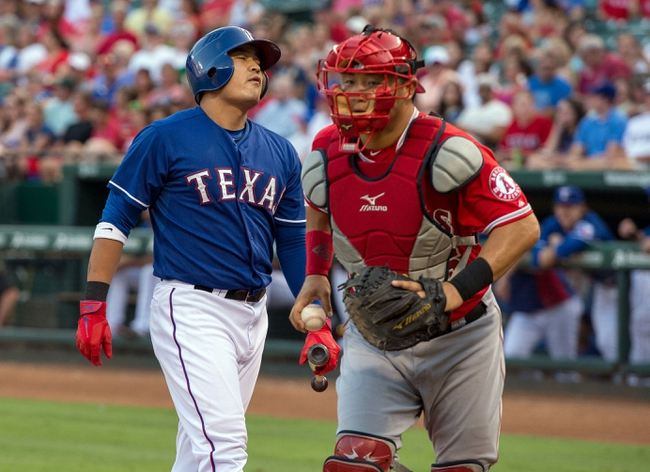 Texas Rangers vs. Los Angeles Angels MLB Pick, Odds, Prediction - 7/12/14
