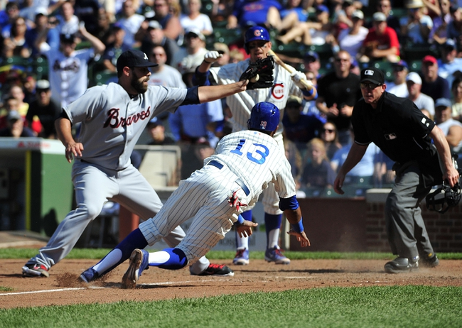 Atlanta Braves vs. Chicago Cubs - 7/17/15 MLB Pick, Odds, and Prediction