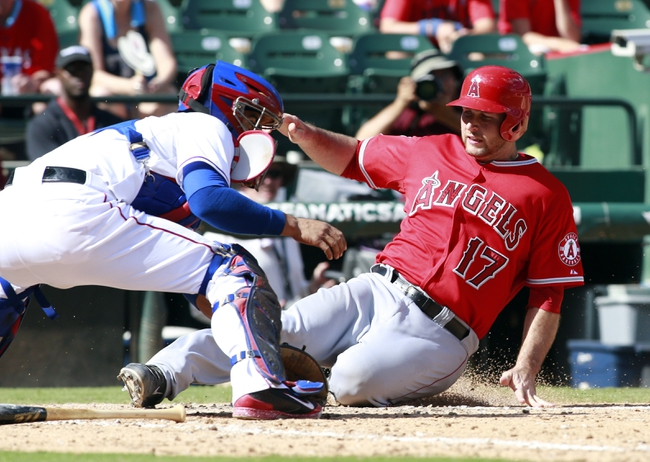 Texas Rangers vs. Los Angeles Angels 8/15/14 MLB Pick, Odds, Prediction