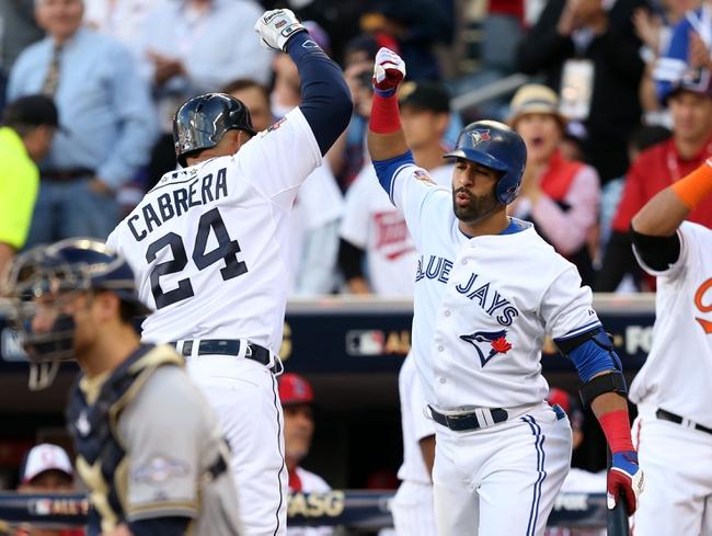Toronto Blue Jays vs. Detroit Tigers 8/8/14 MLB Pick, Odds, Prediction