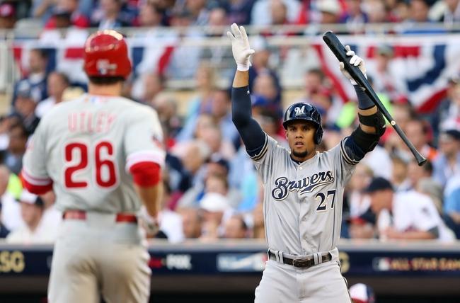 Philadelphia Phillies vs. Milwaukee Brewers - 6/29/15 MLB Pick, Odds, and Prediction