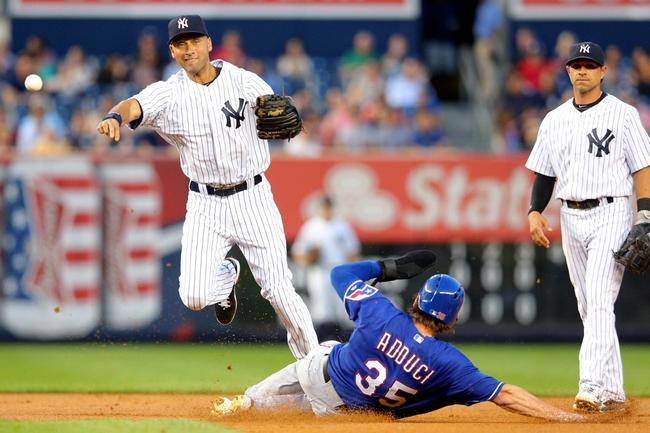 New York Yankees vs. Texas Rangers MLB Pick, Odds, Prediction 7/23/14