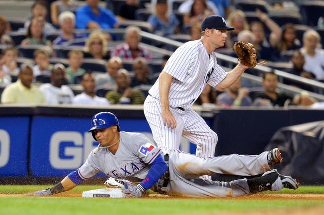 New York Yankees vs. Texas Rangers MLB Pick, Odds, Prediction - 7/24/14