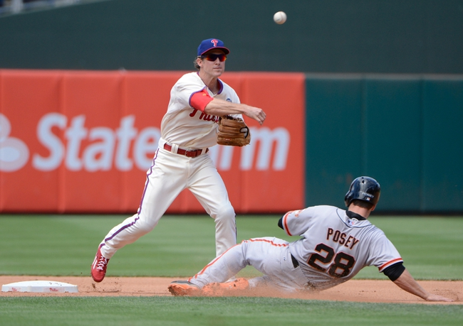 San Francisco Giants vs. Philadelphia Phillies 8/15/14 MLB Pick, Odds, Prediction