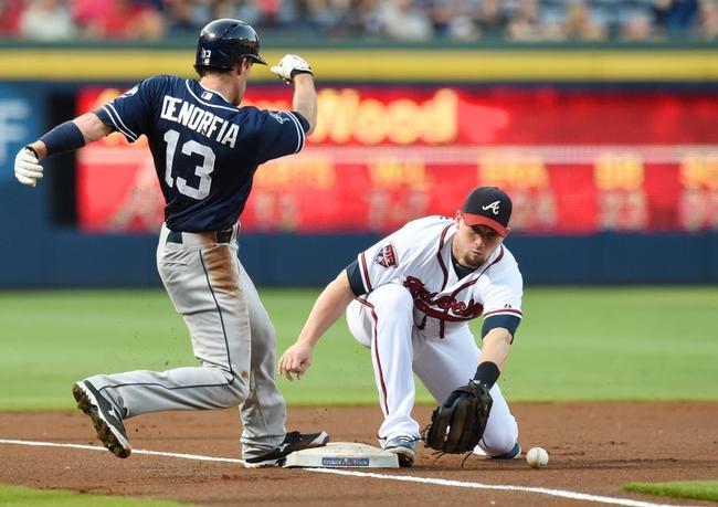 Atlanta Braves vs. San Diego Padres MLB Pick, Odds, Prediction 7/26/14