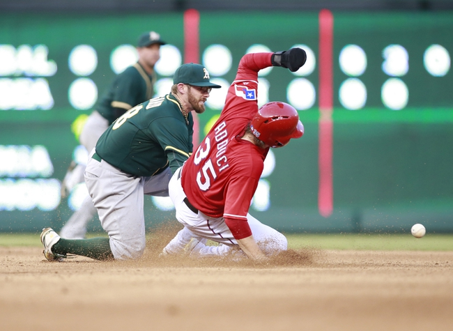 Texas Rangers vs. Oakland Athletics MLB Pick, Odds, Prediction 7/27/14