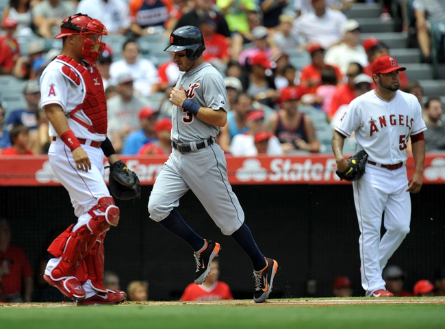 Los Angeles Angels vs. Detroit Tigers - 5/28/15 MLB Pick, Odds, and Prediction