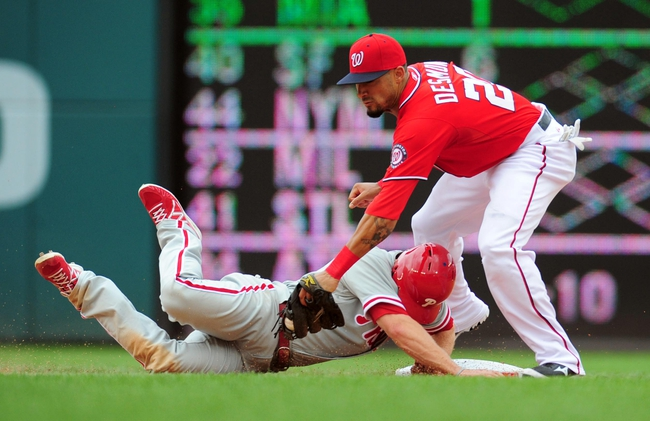 Philadelphia Phillies vs. Washington Nationals 8/25/14 Free MLB Pick and Odds