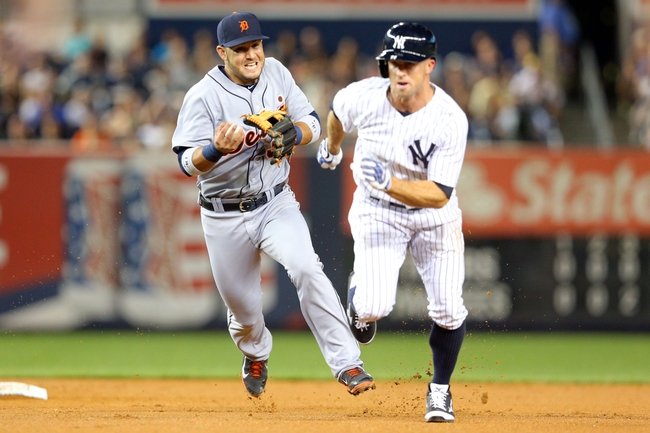 New York Yankees vs. Detroit Tigers 8/5/14 MLB Pick, Odds, Prediction
