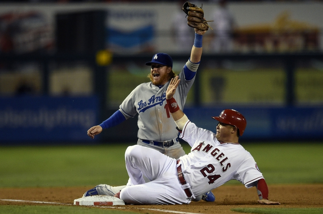 Los Angeles Angels vs. Los Angeles Dodgers Pick-Odds-Prediction - 8/7/14