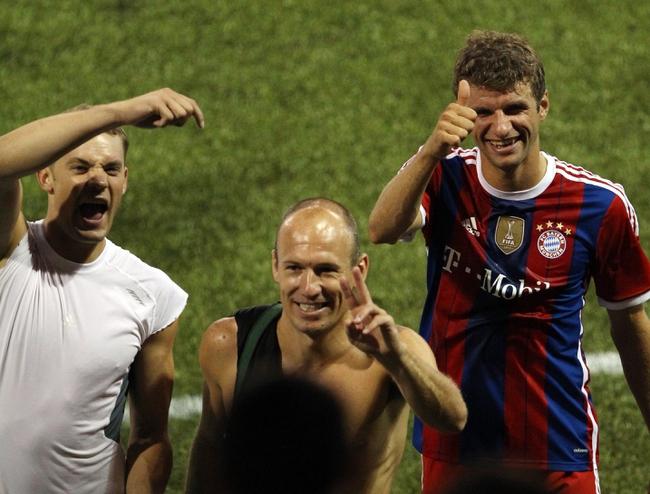 Hamburg vs Bayern Munich 10/29/2014 Free DFB Pokal German Cup Preview, Odds and Prediction