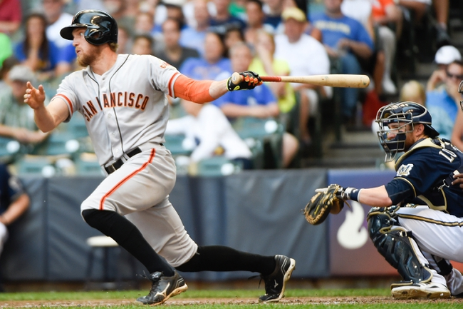 San Francisco Giants vs. Milwaukee Brewers 8/29/14 MLB Pick, Odds, Prediction